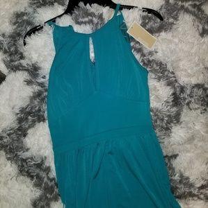 Michael Kors Tile Blue Dress